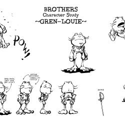 Gren-Louie Character Study 2