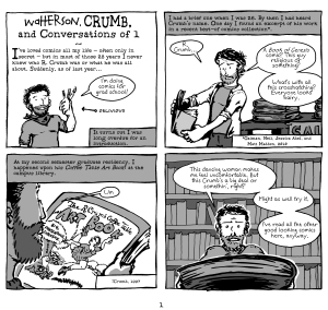 05 Watterson, Crumb, and Conversations of 1