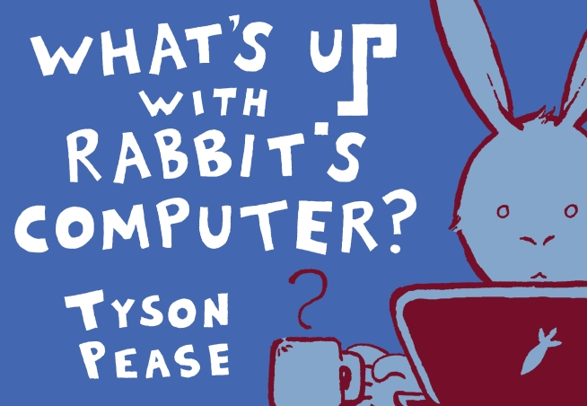 What's Up with Rabbit's Computer? Print Cover