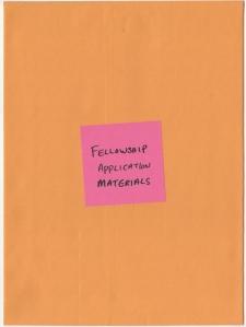 07 Fellowship Application Materials