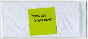 09 Pedagogy Statement