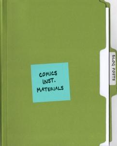 10 Comics Instructional Materials: Blog Posts