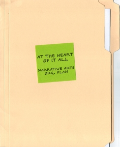 16 At the Heart of It All: Narrative Arts Organization Plan
