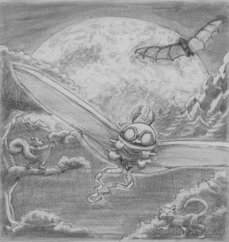 """""""The Moth and the Moon"""" Demo Cover"""