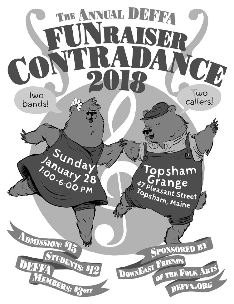 DEFFA Funraiser 2018 Poster